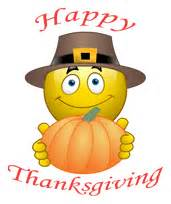 emoticon happy thanksgiving smiley zaazu