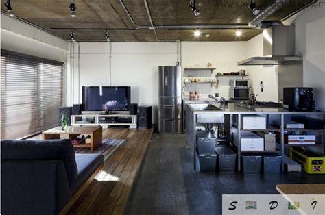 japanese studio apartment loft design