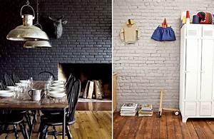 17 meilleures idees a propos de murs en briques peints sur With charming peindre un mur de couleur dans un salon 0 5 idees pour peindre un mur en couleur blog home