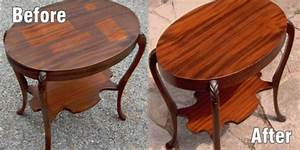 Wood Furniture Restoration at the galleria