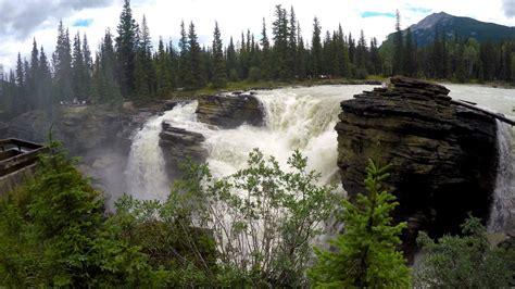 Athabasca Falls Hike Jasper National Park Alberta