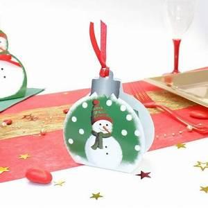 Boule De Neige Noel : boule de no l bonhomme de neige no l drag es anahita ~ Zukunftsfamilie.com Idées de Décoration