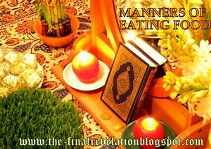 Sunnah  Manners  Of Eating Food In Islam