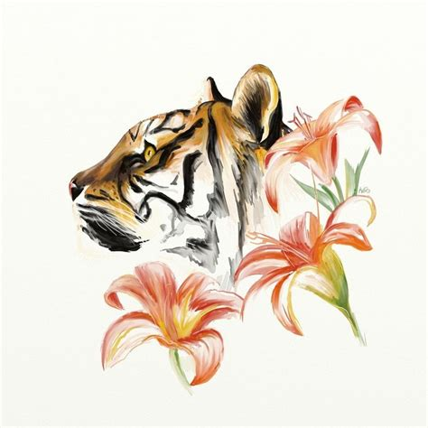 tiger lily      tattoo tattoo tattoos