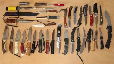 Knife Collection by Knives Multitools Outdoor Products I Cing I B B Q I