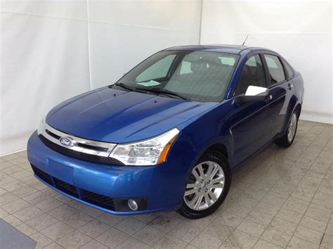ford focus sel  anjou fortier auto