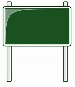 Blank Road Signs - ClipArt Best