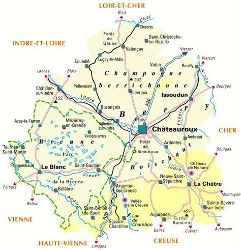 organisation des bureaux amopa carte de l 39 indre