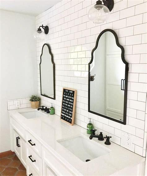 Black Bathroom Mirrors by Best 25 Black Bathroom Vanities Ideas On