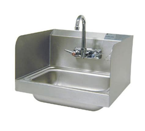 advance tabco 7 ps 66 wall hand sink 14x10x5 quot bowl