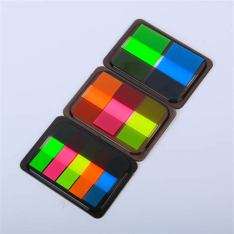 post it bureau pc 1pc colorful fluorescent memo pad post it sticky bookmark writing pads stationery