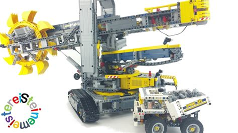 Lego® Technic 42055 Schaufelradbagger Review + Youtube