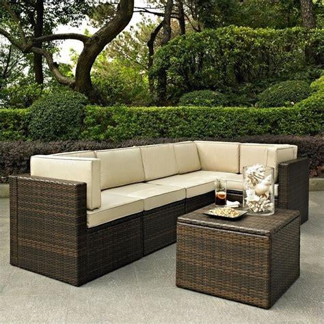 crosley furniture palm harbor 6 outdoor wicker