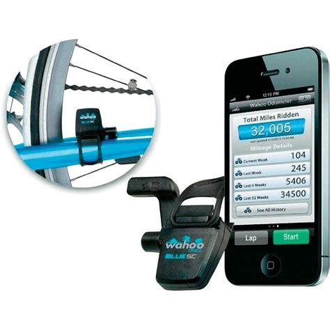 iphone sc wahoo blue sc speed and cadence sensor for iphone 5