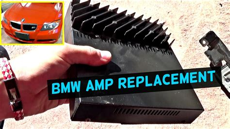 bmw    amp amplifier replacement location