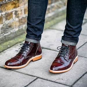 25 Ideas For Styling Oxblood Shoes - Keeping It Dark and Fancy
