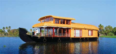 Munnar Boat House Price by Kerala Houseboats Rentals In Alleppey Kumarakom
