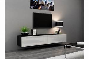 Meuble Tv Design Suspendu Vito 180cm Chloe Design