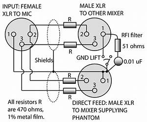 ghost in the machine phantom power page 3 of 3 With wiring diagram rca to xlr wiring diagram xlr connector wiring diagram