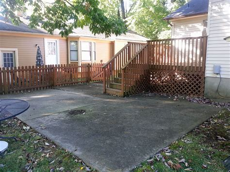 maintenance pressure wash patio middletown louisville ky