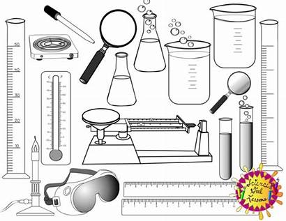Science Scientist Clipart Clip Tools Tool Coloring