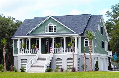 3 bedroom country house plans 3 bedroom low country with media room 9142gu 1st floor