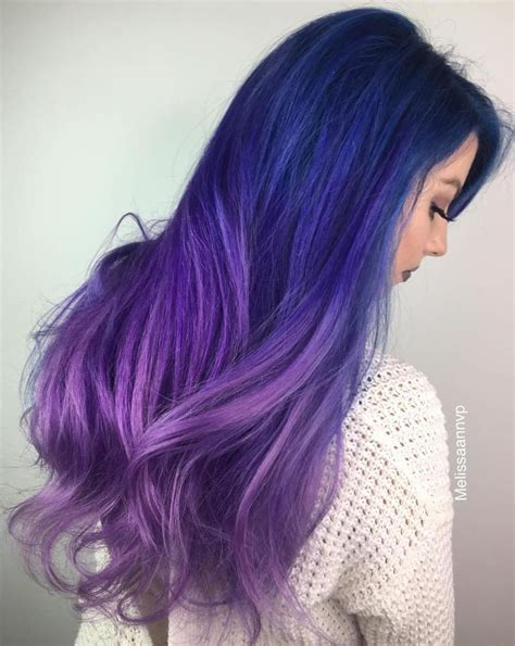 40 Fairy Like Blue Ombre Hairstyles In 2019 Hair Hair