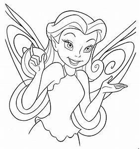 fairy coloring page - august 2012 fairy background wallpapers