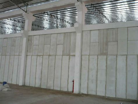 precast concrete lightweight fence wall panel