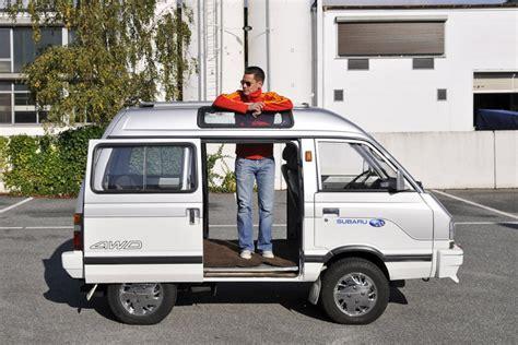 subaru libero subaru libero 1200 special kj8 cool vehicles pinterest