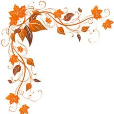 custom wedding programs borde hojas otoño flor leaves autumn