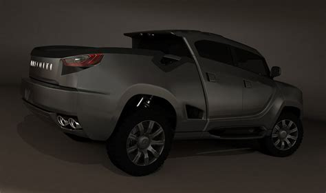 infiniti pickup truck concept   expect  luxury