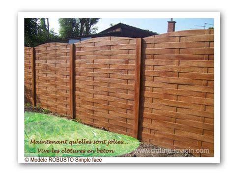 Plaque Beton Imitation Bois 1219 by Fabricant Cloture Beton Palissade Et Plaque Pour Cloture