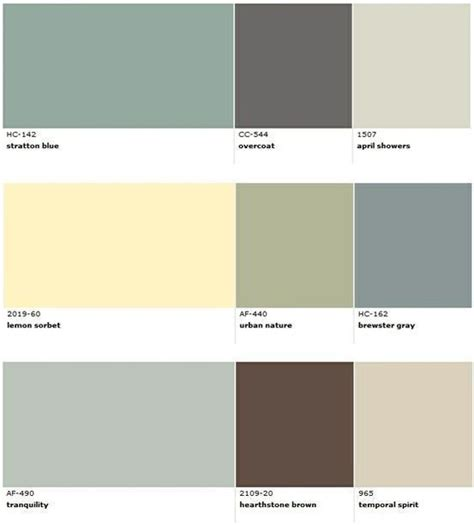 popular benjamin paint colors for house