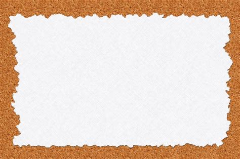 illustration note paper cork board message