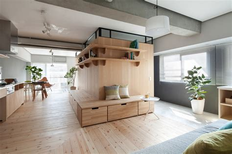 Small Apartment Gets An Efficient L-shaped Makeover