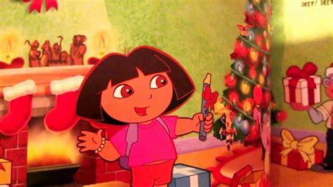 doras christmas parade read aloud story book early