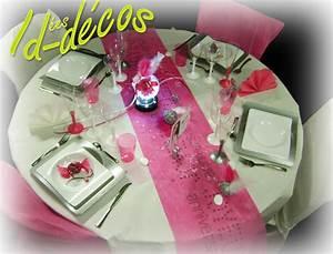 Decoration anniversaire 20 ans 30 ans 40 ans 50 ans fille for Salle de bain design avec décoration de table pour anniversaire 20 ans