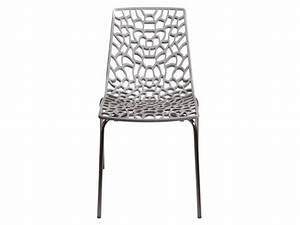 Chaise De Cuisine Conforama : chaise groove 2 coloris gris vente de chaise de cuisine conforama meubles pinterest ~ Teatrodelosmanantiales.com Idées de Décoration