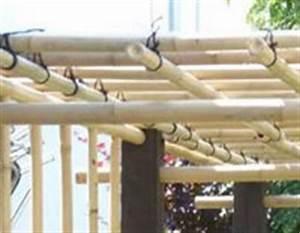 Tonnelle En Bambou : le bambou un mat riau exotique pour concevoir une ~ Premium-room.com Idées de Décoration