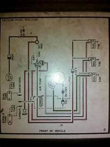 1984 I-6 F-150 Carb Vacuum Diagram