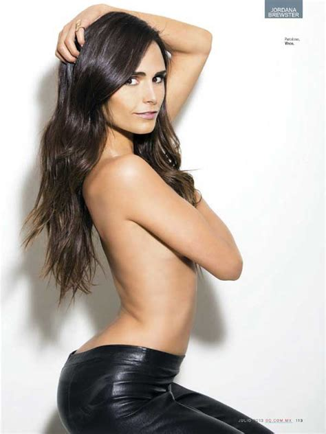 Jordana Brewster Hot Topless Pic Covered By Elbow - Best Hot Girls Pics