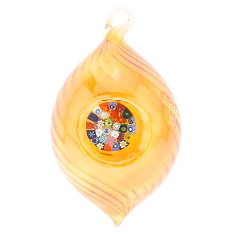 christmas tree ornaments murano glass millefiori