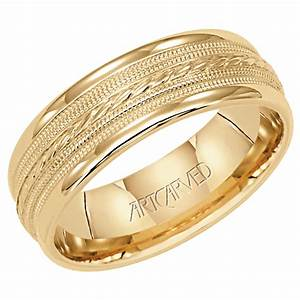 Yellow gold wedding rings for men as stunning as womens for Wedding gold rings for men