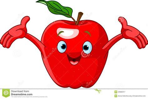 Cartoon Apple Clipart
