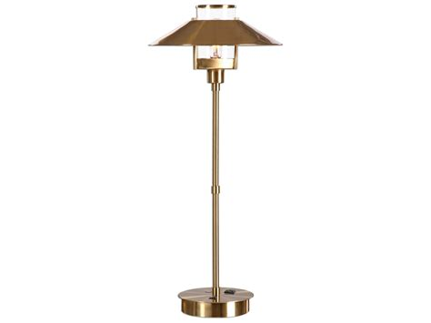 Uttermost Albaretto Brushed Brass Table Lamp Living Room Of Point Loma How To Decorate A With Only 2 Walls Decor Feng Shui Help Wall Shelves Design In Tiny Kitchen Combo Buy Pictures Curtains Cream