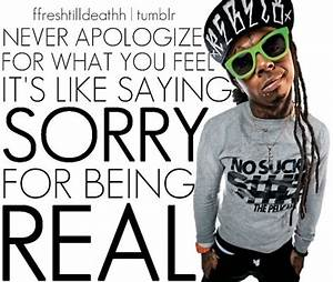Rap Quotes Abou... Lil Wayne Wise Quotes