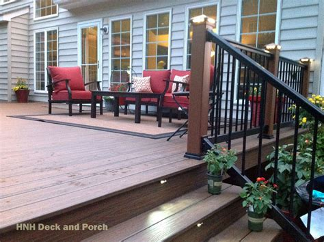 deck railing gallery hnh deck  porch llc
