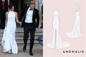 Customize meghan markles second wedding dress from 800 for Anomalie wedding dress