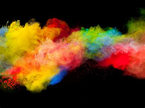 desktop wallpaper colorful powder explosion hd image picture background ee